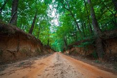 Coche Road de la etapa imagenes de archivo