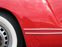 Coche rojo Fotografía de archivo libre de regalías
