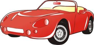 Coche rojo libre illustration