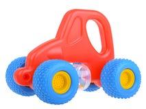 Coche rojo del juguete Imágenes de archivo libres de regalías