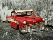 Coche rojo estupendo Imagen de archivo libre de regalías