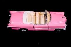 Coche rosado Toy Model de Caddilac Fotos de archivo