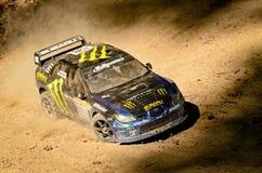 Coche Subaru Impreza WRC de la reunión de Rc Foto de archivo libre de regalías