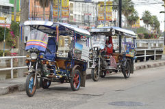 Coche tailandés del tuktuk Imagenes de archivo