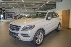 Coche vendido, mlc del Mercedes-Benz imagen de archivo libre de regalías