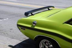 Coche verde del músculo Imagen de archivo libre de regalías