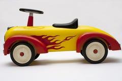 Coche viejo del juguete Foto de archivo libre de regalías