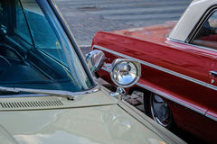 Coche viejo Dodge de Helsinki, Finlandia Foto de archivo