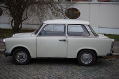 Coche viejo en la Alemania Oriental Fotos de archivo libres de regalías