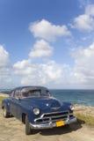 Coche viejo en La Habana, Cuba Foto de archivo