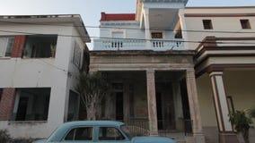 Coche viejo La Habana almacen de metraje de vídeo