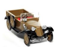 Coche viejo Tatra 11 Normandie del juguete Fotografía de archivo libre de regalías