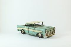 Coche viejo verde Imagen de archivo libre de regalías