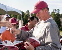 Coche Whisenhunt de los cardenales del NFL Arizona Imagen de archivo libre de regalías