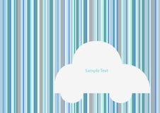 Coche y raya del gris azul Imágenes de archivo libres de regalías