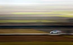 Coche y velocidad Foto de archivo