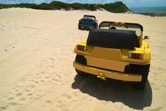 Cochecillos de duna Imagenes de archivo
