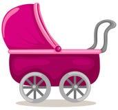 Cochecito de niño del bebé Fotos de archivo libres de regalías