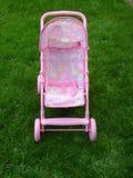 Cochecito de niño rosado Imágenes de archivo libres de regalías