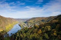 cochem Allemagne la Moselle près de vallée image libre de droits