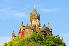 Cochem Castle Stock Photo