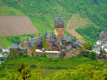 Cochem castle Royalty Free Stock Photos