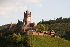 Cochem castle Royalty Free Stock Photography