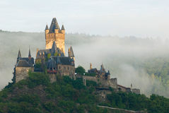 Cochem castle Royalty Free Stock Image
