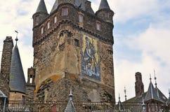 Cochem castle main tower Stock Photo