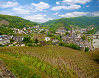 Cochem city panorama Stock Images