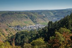 Cochem Eifel, Tyskland, Europa arkivbild