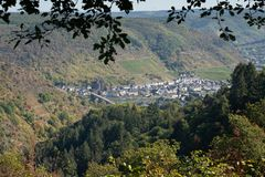 Cochem Eifel, Tyskland, Europa royaltyfri fotografi