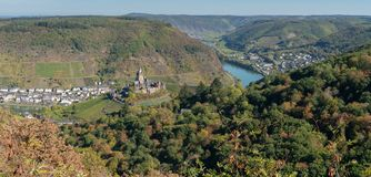 Cochem Eifel, Tyskland, Europa arkivfoton