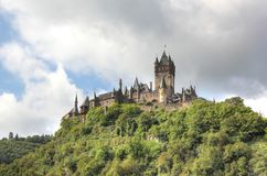 The Cochem Imperial Castle (Reichsburg), Germany. Royalty Free Stock Image