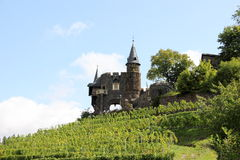 The Cochem Imperial Castle (Reichsburg), Germany. Stock Image
