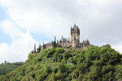 The Cochem Imperial Castle (Reichsburg), Germany. Royalty Free Stock Photo