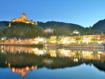 Cochem Mosel dal, Tyskland royaltyfria bilder