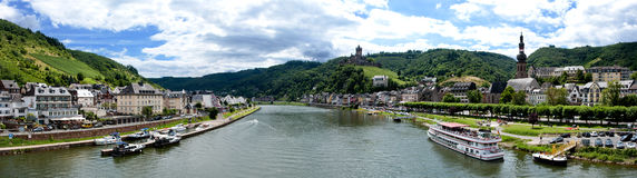 Cochem and Mosel River Royalty Free Stock Photo