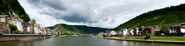 Cochem and Mosel River Stock Photo