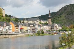 Cochem region at the heart of romantic Moselle Valley, Germany. Royalty Free Stock Photos