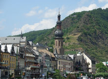 Cochem at river Moselle Royalty Free Stock Photography