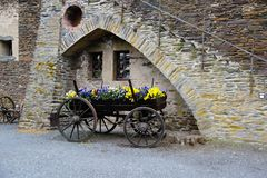 Cochem Schloss Stockbild