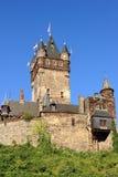 Cochem-Schloss - Turm Lizenzfreies Stockbild
