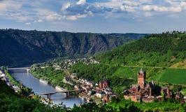 Cochem sur la Moselle photos libres de droits