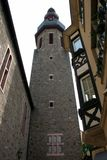 Cochem Tower. A large tower in Cochem, Germany Royalty Free Stock Image