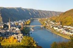 Cochem Tyskland Royaltyfria Bilder