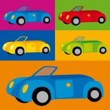 вектор coches Стоковые Изображения RF