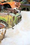 Coches abandonados Foto de archivo libre de regalías