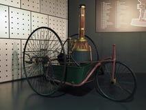 Coches antiguos en el museo del coche en Turín Foto de archivo