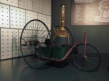 Coches antiguos en el museo del coche en Turín Foto de archivo libre de regalías